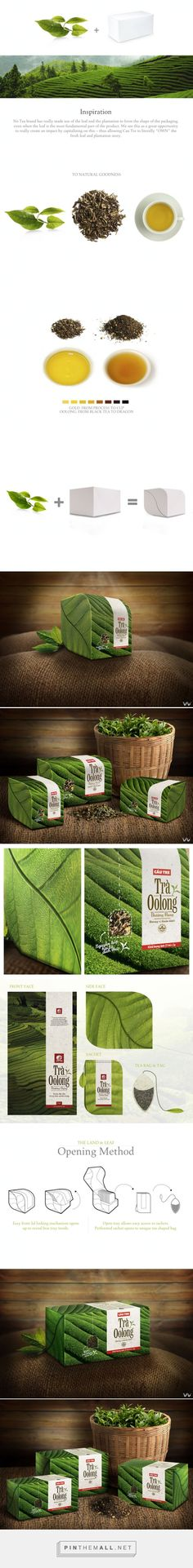Cau Tre Oolong #Tea #packaging by Wildfire Collaborative - http://www.packagingoftheworld.com/2015/02/cau-tre-oolong-tea.html - created via http://pinthemall.net