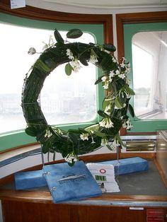 Eindopdracht versiering op locatie @stuurhut, SS Rotterdam
