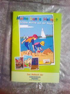 Malbuch für Kinder!Meine Bunte Heimat!NEU!