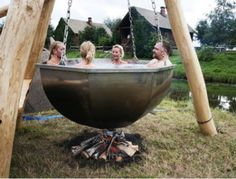 A hot tub...Literally!