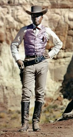 "Sidney Poitier in ""Duel at Diablo"""