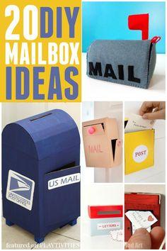 20 Cutest Mailbox Ideas - PLAYTIVITIES