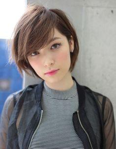 Cute Short Haircuts for Asian Women