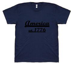 America est. 1776 Tee