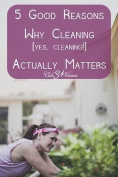 A very inspiring post! Why does cleaning really matter? Here are some wonderful reasons why cleaning can be considered a holy activity - and why a clean house preaches a sermon of hope. 5 Good Reasons Why Cleaning (yes, cleaning!) Actually Matters - Club3