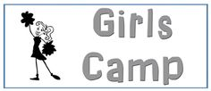 girls camp page - I like the secret sister wooden spoon idea