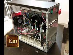 ElementalMaker: G0704 CNC Conversion Electronics Part 2: Enclosure - YouTube