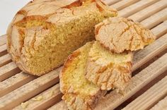 Фото Португальский кукурузный хлеб «Броа»