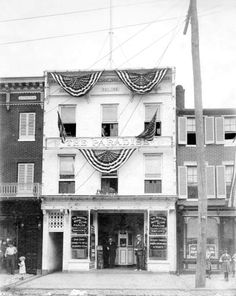 Baltimore's 1st movie theater.