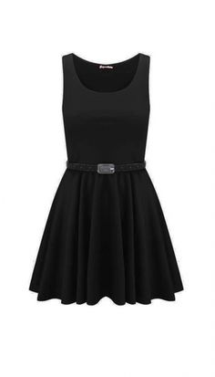 Cute little black dress!