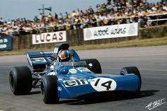 1971 GP Wielkiej Brytanii (Francois Cevert) Tyrrell 002 - Ford