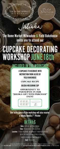 THM MKE: Cupcake Decorating Event! #Milwaukee