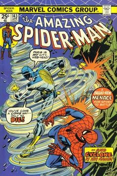 Amazing Spider-Man #143, Cyclone