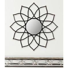 NEW Safavieh Flower Power Wall Mirror