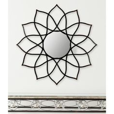 NEW Safavieh Flower Power Wall Mirror
