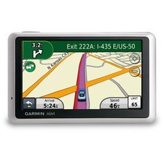 Garmin nüvi 1450LM 5-Inch Touchscreen Portable GPS Navigator by Garmin. $199.00. Amazon.com                See the big, wide world with the large screen nüvi 1450LM. It offers free Lifetime Maps, multiple-point routing, lane assist with junction view to guide you through busy highway interchanges, pedestrian routing options and ecoRoute to find the most fuel-efficient route.        EcoRoute calculates the most fuel-efficient route, tracks fuel usage and more.     Simply tap...