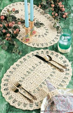 Ravelry: Table Setting pattern by Ann Parnell