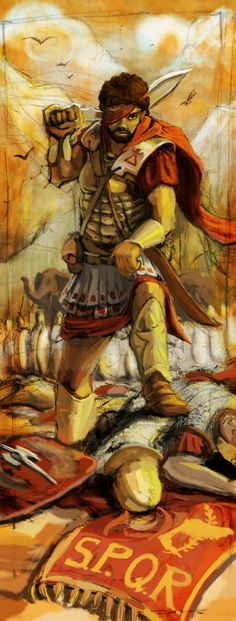 Hannibal Barca by LordGood on DeviantArt History Images, Art History, Carthage Tunisia, Hannibal Barca, Punic Wars, Ancient World History, Roman Soldiers, African History, African Art