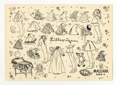 78.6410: Lillepigen | paper doll | Paper Dolls | Dolls | National Museum of Play Online Collections | The Strong