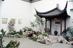 #MetKids Fun Fact: Those are real carp in that pond! They live here year-round, and someone at the Museum feeds and takes care of them. | The Astor Chinese Garden Court, 17th century style. China. The Metropolitan Museum of Art, New York. Purchase, The Vincent Astor Foundation Gift, 1981 (Astor Court)