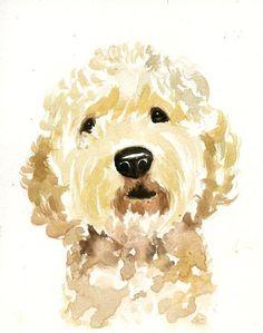 Custom pet portrait pet portrait custom custom dog portrait