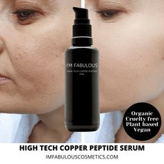 Why Copper Peptides Are Like A Natural Botox Help Hair Grow, Blood Plasma, I'm Fabulous, New Hair Growth, Anti Aging Skin Care, Amino Acids, Organic Skin Care, Active Ingredient