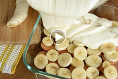 Magnolia Bakery Banana Pudding - Watch as we pour the pudding over the wafer cookies. The cookies get soft like cake! This recipe is so good.