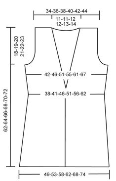 """Knitted DROPS vest in """"Alaska"""" with collar and crochet border in """"Puddel"""". Knitting Patterns Free, Free Knitting, Montana, Alaska, Crochet Borders, Drops Design, Stitch, Knit Patterns, Sweater Vests"""