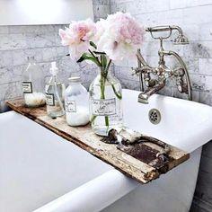 French Decor for Bathroom Lovely Decor Inspiration French Inspired Bathroom Remodel Bad Inspiration, Bathroom Inspiration, Bathroom Ideas, Bathtub Ideas, Bathroom Designs, Bath Tub Decor Ideas, 50s Bathroom, Bathroom Sink Decor, Relaxing Bathroom