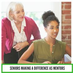 seniors making a difference as mentors
