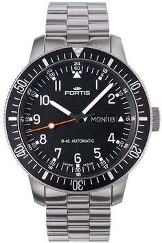 Fortis Watch Cosmonautis Official Cosmonauts #bezel-unidirectional…