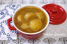 Patatas guisadas - COCINANDO PARA MIS CACHORRITOS