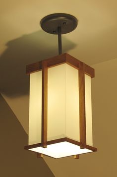 Prairie Style Pendant Light Fixture by kocharchitect on Etsy, $125.00