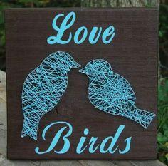 Love birds sign