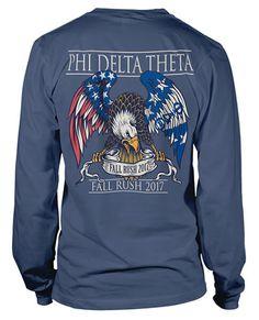 Phi Delta Theta Shirt   Phi Delta T-shirts   Fraternity Shirts   Fraternity Rush Shirts   Rush T-shirts   Greek Apparel   Greek T-shirts   American Eagle   Greek T-shirts   Greek Apparel   Custome Greek T-shirts  