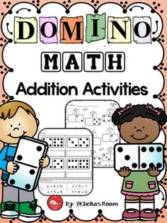 Domino Math Addition ActivitiesHere are some of the printables included in this…
