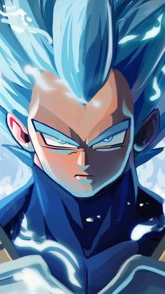 Vegeta has become my new favourite, used to like Goku but Vegeta grew on me Dragon Ball Gt, Dragon Ball Image, Vegeta Ssj Blue, Goku Y Vegeta, Wallpaper Animé, Joko, Animes Wallpapers, Anime Characters, Fanart
