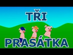 Tři prasátka / O třech prasátkách / Tři malá prasátka - Animovaná pohádka pro nejmenší a malé děti - YouTube Video K, Fairy Tales, Diy And Crafts, Family Guy, Education, Youtube, Fictional Characters, Ms, Audio