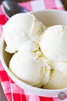 Homemade Vanilla Ice Cream Recipe on Yummly
