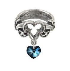 The Dogaressa's Last Love Ladies Gothic Ring By Alchemy Gothic
