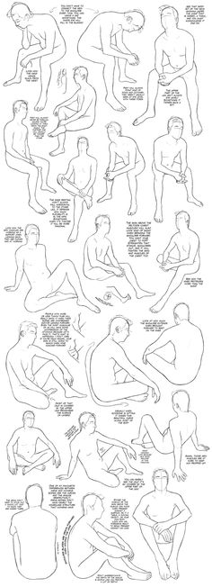 Sitting Tutorial (male) by DerSketchie
