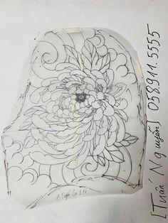 Flower Tattoo Designs, Flower Tattoos, Crisantemo Tattoo, Koi, Chrysanthemum Tattoo, Japanese Tattoo Art, Peony, Sleeve Tattoos, Tatoos