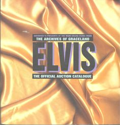 Elvis 1999 Guernsey's MGM Grand Official Auction Catalog Graceland Items