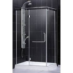 Check out the Dreamline SHEN-1031458-01 Quad Shower Enclosure in Chrome priced at $725.90 at Homeclick.com.