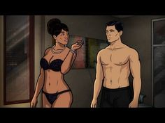 Some of the sexiest cartoon characters include anime characters, cunning women, and spy agents. Archer Tv Show, Archer Fx, Episodes App, Episode Choose Your Story, Tv Seasons, Episode Guide, Pitch Perfect, Sexy Cartoons, Cartoon Characters