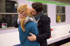 train lovers love b&w Lovers, Train, Couple Photos, Couples, Fictional Characters, Stars, Couple Shots, Sterne, Couple