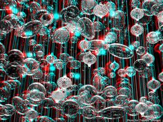 IMAGINATION - Glass cells (3D - anaglyph) Foto 3d, View Photos, Red And Blue, Imagination, 3 D, Glass, Cards, Photography, Image