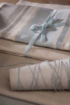 Artisan Linens, furnishing fabrics from Svenmill Ltd Linens, Artisan, Fabrics, Natural, Gifts, Collection, Tejidos, Bedding, Presents