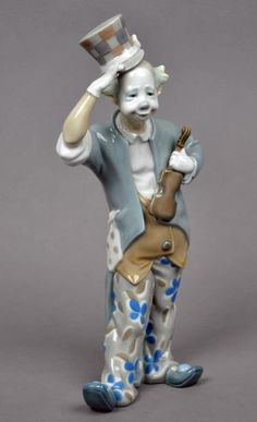 LLADRÓ FIGURINE - CLOWN