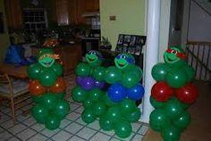 ninja turtles made out of ballons Ninja Turtle Party, Ninja Party, Ninja Turtle Birthday, Ninja Turtles, Turtle Birthday Parties, Birthday Fun, Birthday Ideas, Birthday Balloons, Do It Yourself Baby